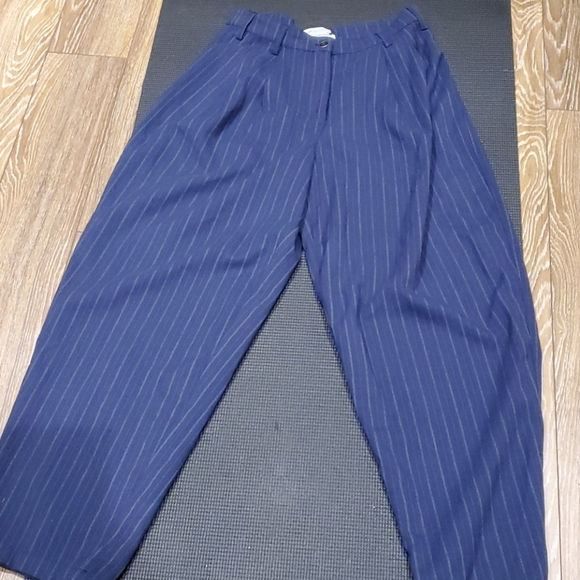 Urban Outfitters Tapered Pinstripe Trousers